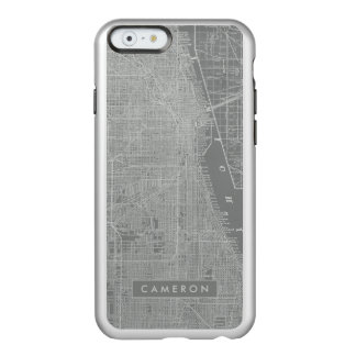 Sketch of Chicago City Map Incipio Feather® Shine iPhone 6 Case