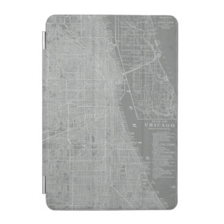 Sketch of Chicago City Map iPad Mini Cover
