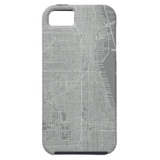 Sketch of Chicago City Map iPhone 5 Covers