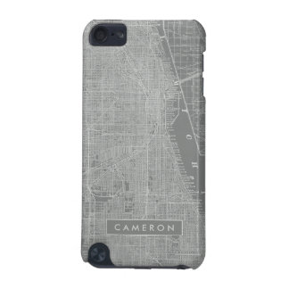 Sketch of Chicago City Map iPod Touch 5G Case