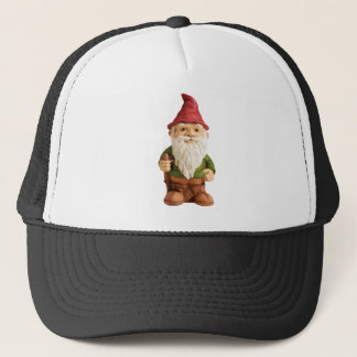 Sketch of Garden Gnome Trucker Hat