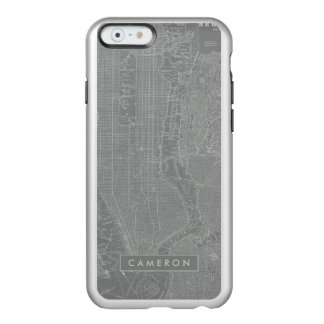 Sketch of New York City Map Incipio Feather® Shine iPhone 6 Case