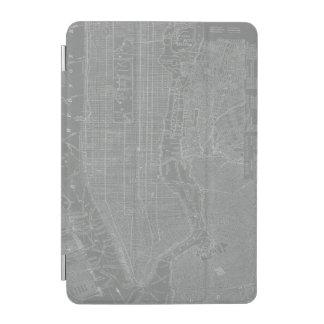 Sketch of New York City Map iPad Mini Cover