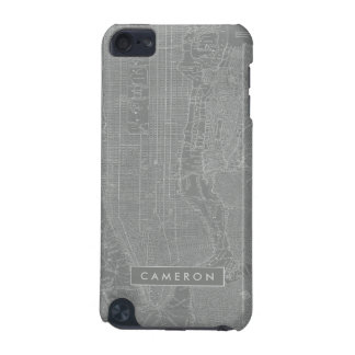 Sketch of New York City Map iPod Touch 5G Covers