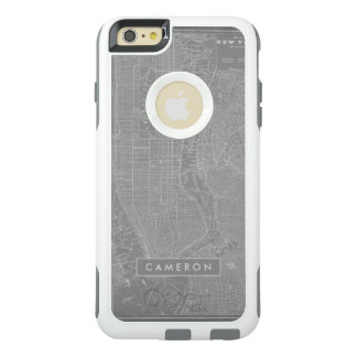 Sketch of New York City Map OtterBox iPhone 6/6s Plus Case