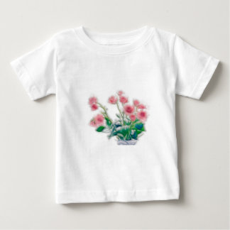 Sketch of Rose Bouquet Baby T-Shirt