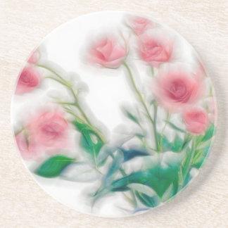 Sketch of Rose Bouquet Coaster