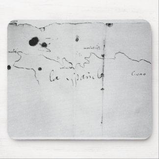 Sketch of the coast of Espanola, Mouse Pad