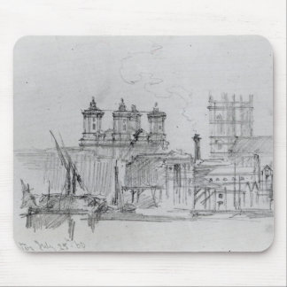 Sketch of Westminster, 1860 Mouse Pad