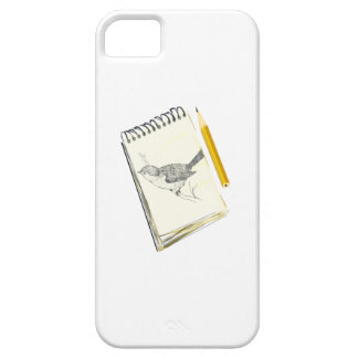 Sketch Pad Bird iPhone 5 Cover