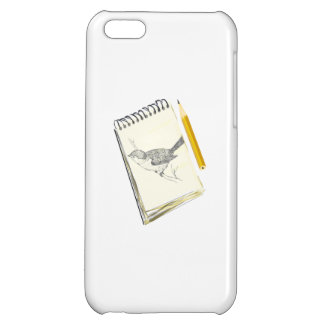 Sketch Pad Bird Cover For iPhone 5C