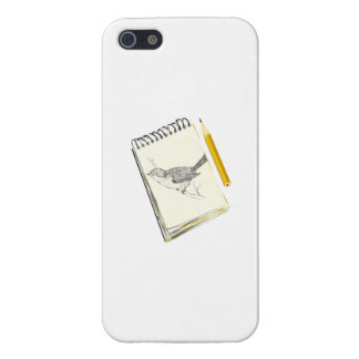 Sketch Pad Bird Cases For iPhone 5