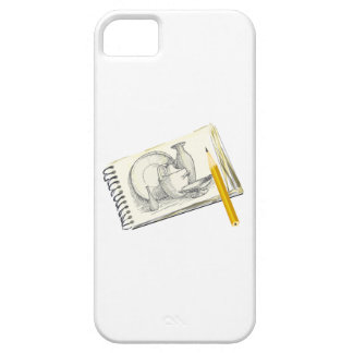 Sketch Pad Drawing iPhone 5 Cases