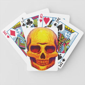 Sketch Skull Bicycle Playing Cards