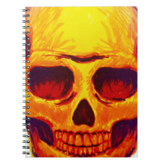 Sketch Skull Notebook