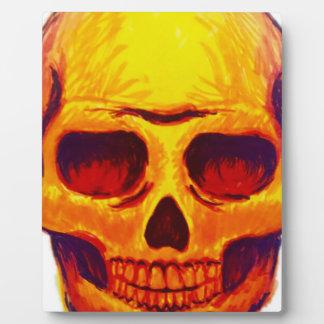 Sketch Skull Plaque