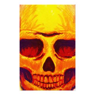 Sketch Skull Stationery