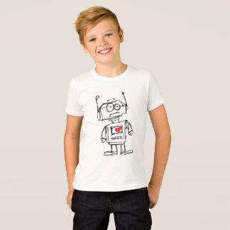 Sketchbot Heart T-Shirt
