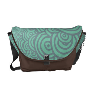 Sketched Rings Commuter Bags