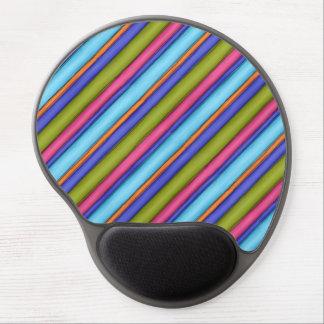 Sketchy Broad Stripes Gel Mouse Pad
