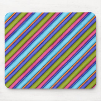 Sketchy Broad Stripes Mouse Pad