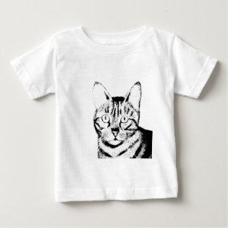 Sketchy Cat Baby T-Shirt