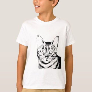 Sketchy Cat T-Shirt