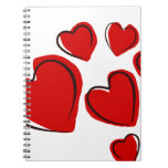 Sketchy Hearts Note Books