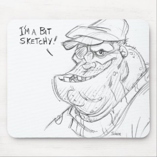 Sketchy Mouse Pad