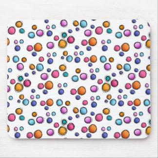 Sketchy Random Dots Mousepad