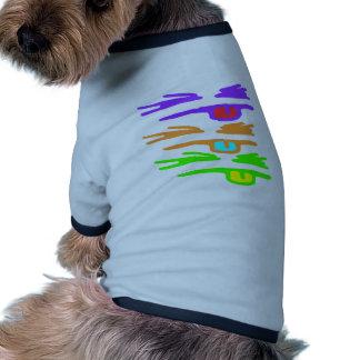 Sketchy, RGB and Rude Pet Shirt