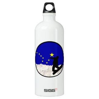 Ski Alaska Water Bottle