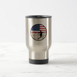 Ski America Travel Mug