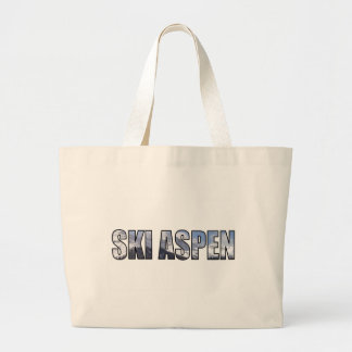 Ski Aspen Large Tote Bag