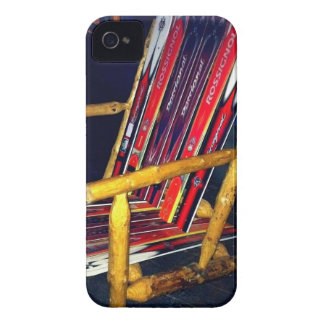 Ski Chair Cool Things to Make with Old Skis iPhone 4 Case-Mate Cases