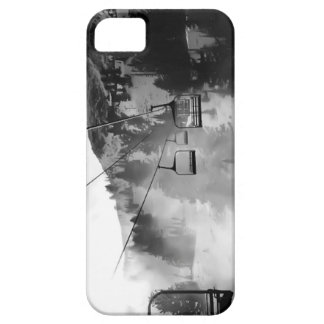 Ski Chair Snow Case iPhone 5 Covers