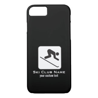 Ski Club Ski Team Custom Downhill Alpine Skiing iPhone 7 Case