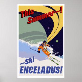 Ski Enceladus! Poster