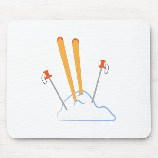 Ski Equipment Mousepads