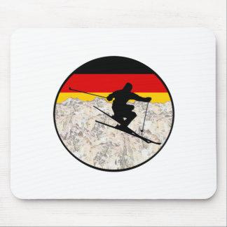 Ski Germany Mouse Pad