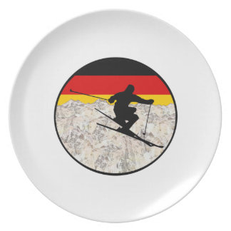 Ski Germany Plate