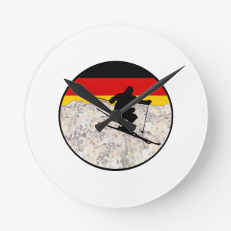 Ski Germany Round Clock