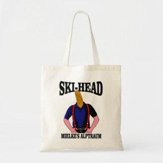 Ski Head - Mielke's nightmare Canvas Bags