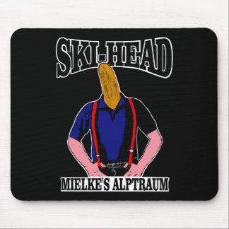 Ski Head - Mielkes nightmare Mouse Pads