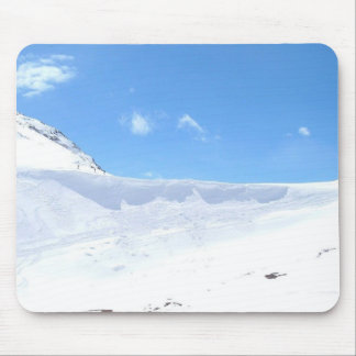 Ski In The Alps On Bright Day Mouse Pad