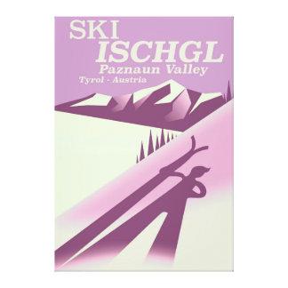 Ski Ischgl,Paznaun Valley Tyrol Canvas Print