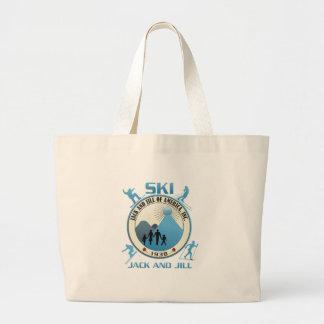 Ski Jack and Jill Blue Stuff Bags