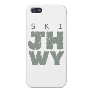 SKI Jackson hole iPhone 5 Cases