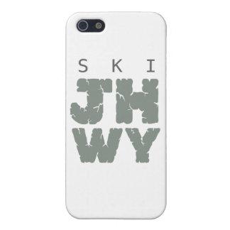 SKI Jackson hole iPhone 5 Cover