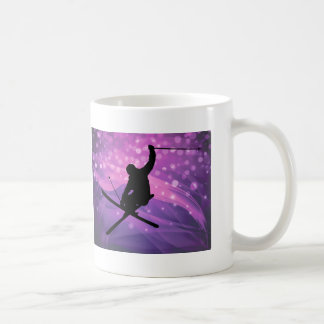 Ski Jump Coffee Mug
